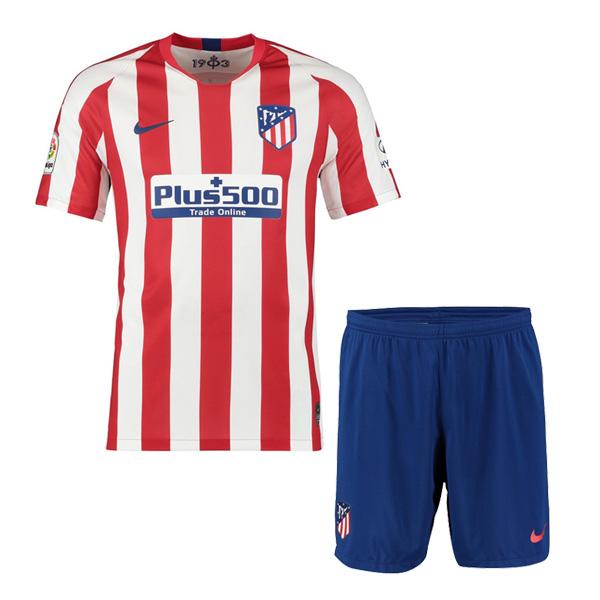 best service cb227 44cd7 19-20 Atlético de Madrid Home Jersey Men Kit : Cheap Soccer ...
