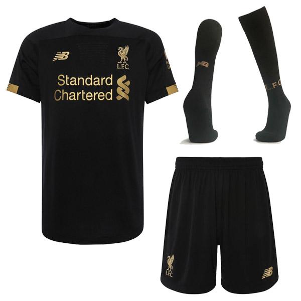 release date: a52dc 4e769 19-20 Liverpool Black Goalkeeper Jersey Full Kit : Cheap ...