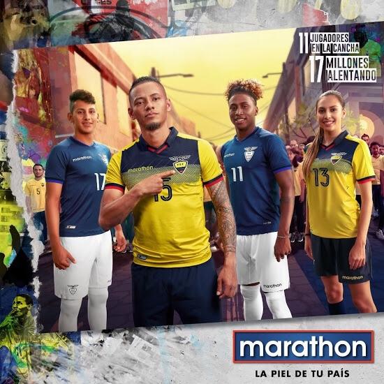 2019 Copa America Ecuador Home Yellow Jersey